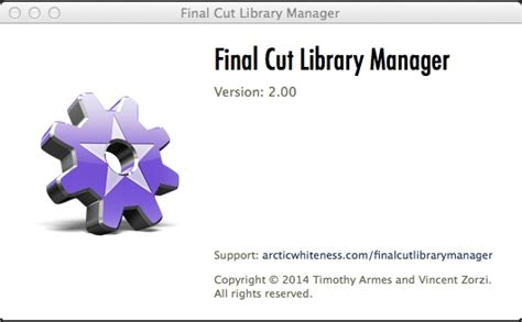 final cut pro library final cut pro x library manager 2