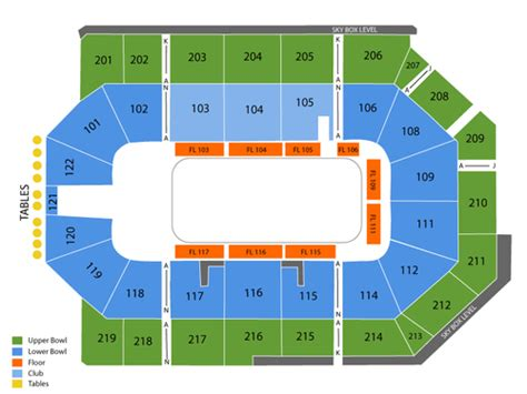section 115 trust citizens business bank arena seating chart events in