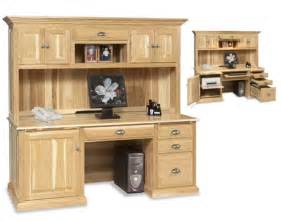 Computer Desk And Hutch Amish Traditional Computer Desk And Hutch Amish Office Furniture Sugar Plum Oak Amish