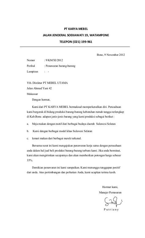 contoh dokumen niaga contoh surat niaga dan surat kuasa