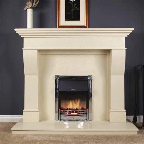 estada 60 inch ivory cream fireplace surround