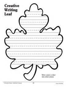Leaf Shaped Writing Paper Celebrate The Joy Of Reading All Month Long Scholastic Com