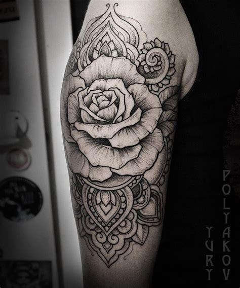 rose mandala tattoo afbeeldingsresultaat voor sleeve mandela