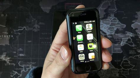 worlds smallest smartphone soyes  pk iphone  youtube