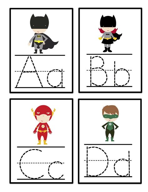Traceable Letter Cards alphabet tracing cards school ideas