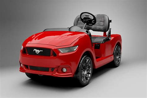 2015 mustang how much 2015 mustang golf cart costs almost as much as a regular