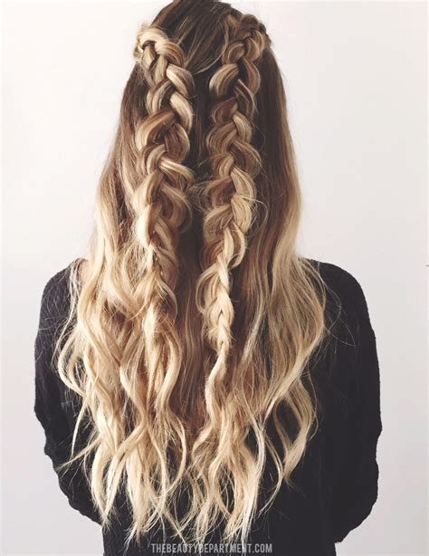 2 Braids Hairstyles by The Department Your Daily Dose Of Pretty 2