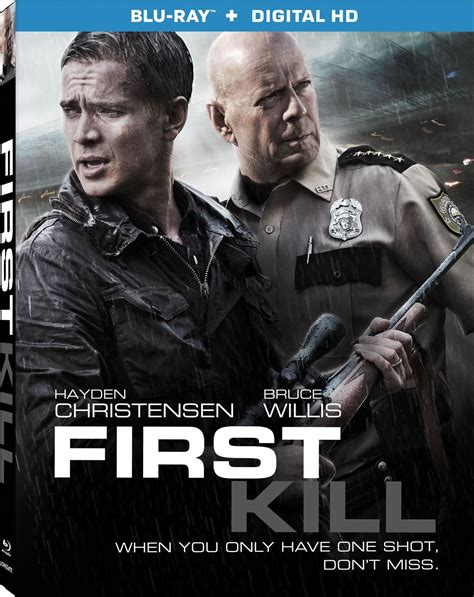 film blu ray quanto occupano first kill dvd release date september 5 2017