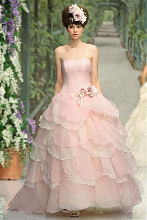 light pink dress for wedding pink wedding dress dressed up