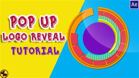 tutorial pop out logo after effects tutorial pop up circles animation logo