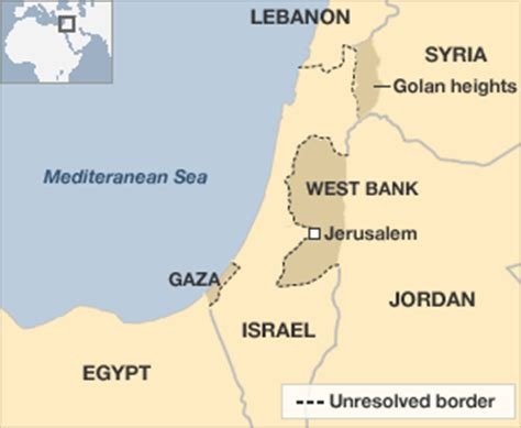 middle east map golan heights obstacles to middle east peace borders and settlements