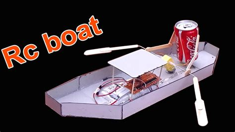 how to make a boat rc how to make a boat homemade rc boat simple and easy