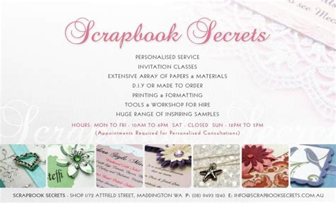 diy wedding invitation perth scrapbook secrets scrapbooking wedding invitations