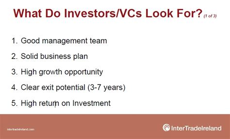 How To Address Exit Strategy In Your Investor Business Plan Business Plan For Investors Template