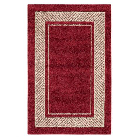 red accent rug red border rug rugs ideas