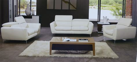 off white sofa set savoy 3 piece italian top grain off white leather sofa set