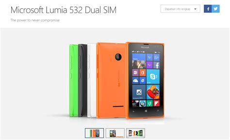 Microsoft Lumia 1 Jutaan Lumia 532 Dan 435 Sudah Mulai Dijual Di Indonesia Winpoin