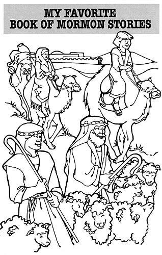 coloring pages book of mormon book of mormon lds lesson ideas
