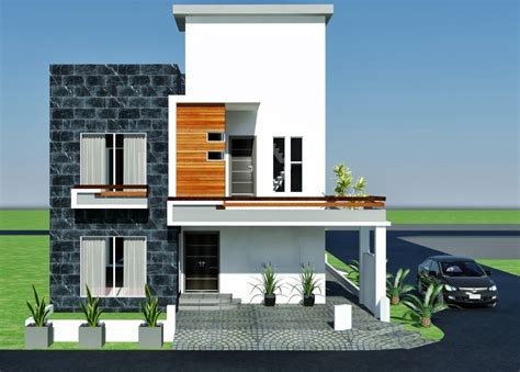3d front elevation com 10 marla contemporary house design moved permanently