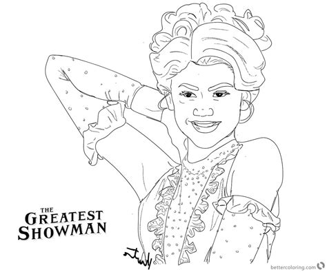 greatest showman coloring pages tent pictures to pin on