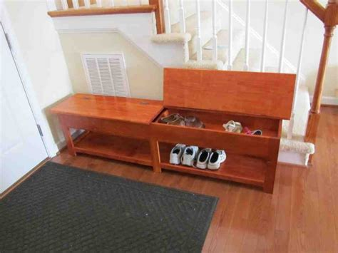 storage bench ideas wooden storage bench plans home furniture design