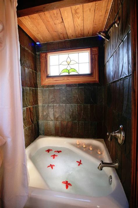 Home Bathtub Spa by Tiny House At Hillside Cottages