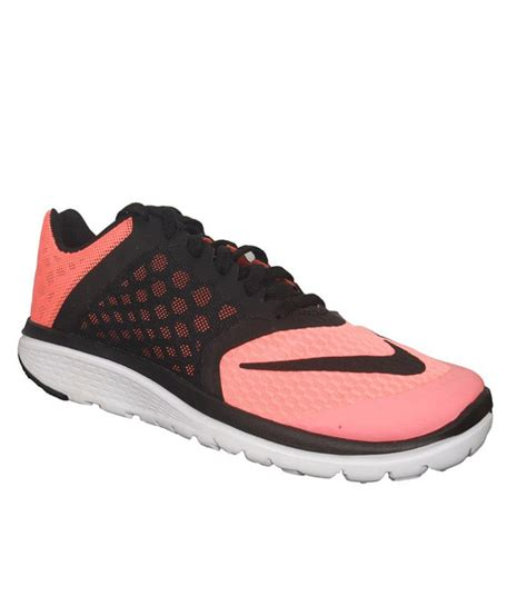 nike lite running shoes nike fs lite run 3 black and pink sports shoes price in