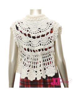 crosia jacket design crochet bolero jackets shrugs vest on pinterest