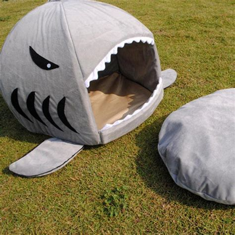 dog shark bed shark dog bed