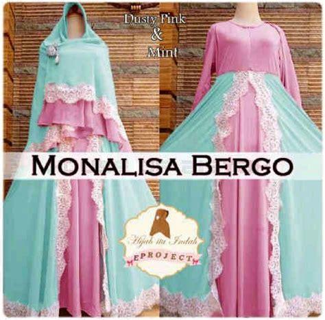 Bergo Ceruty Bunga miftah shop supplier tangan pertama baju gamis syari
