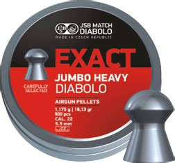 Jsb Exact Jumbo Heavy 22 jsb exact jumbo heavy diabolo 22 pull the trigger