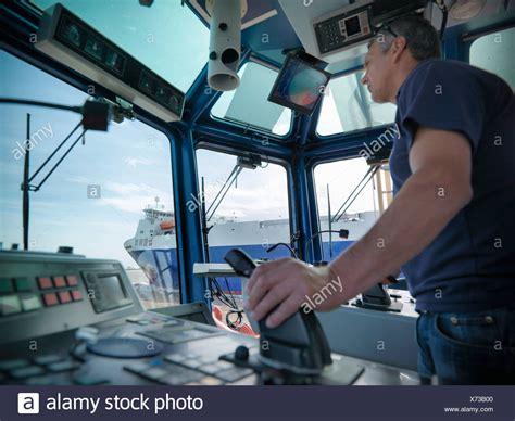 tugboat wheelhouse wheelhouse stock photos wheelhouse stock images alamy