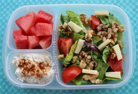 cottage cheese lunch ideas salad cottage cheese watermelon lunch idea packed in