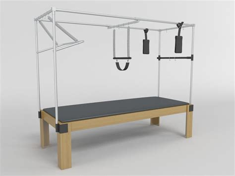 Pilates Table by Pilates Table 3d Model
