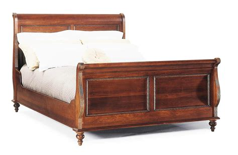 Mahogany Sleigh Bed Durham Furniture Savile Row Sleigh Bed In Mahogany 980 127 Vicm Sleigh Beds