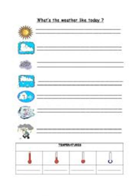 Temperature And Heat Worksheet by Thermometer Worksheets For Kindergarten Temperature