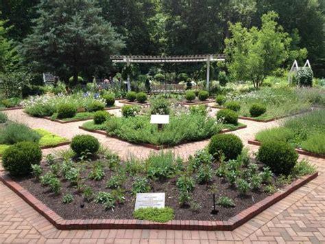 Herb Garden At State Botanical Gardens State Botanical Garden
