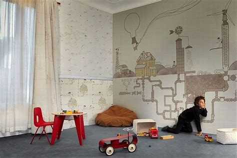 Wallpaper Kids Bedrooms Wallpaper For The Kids Room By Tres Tintas Barcelona