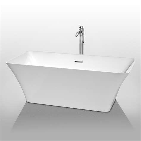 wyndham bathtubs wyndham collection wcbtk150467 tiffany 67 inch large soaking bathtub bath bathroom