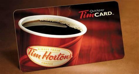 Tim Hortons Giveaway - free 20 tim horton s gift card giveaway free stuff finder canada