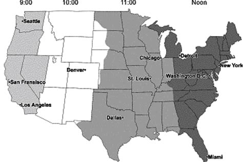us map time zones black and white it wasn t government that fixed your clock mackinac center