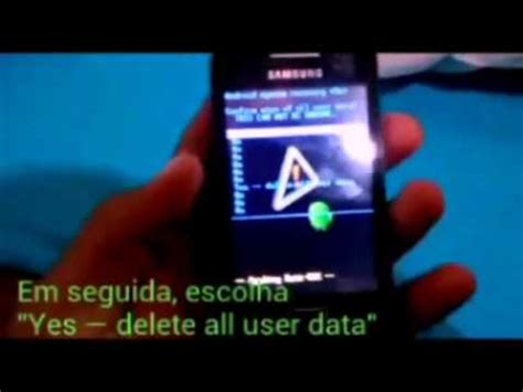 samsung galaxy ace 3 s7275 hard reset youtube quot hard reset no samsung galaxy ace gt s5830b quot youtube