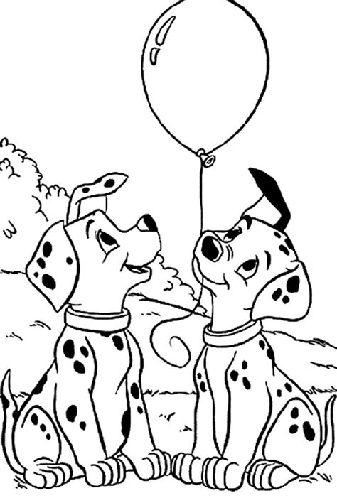 dalmatian coloring page coloring home
