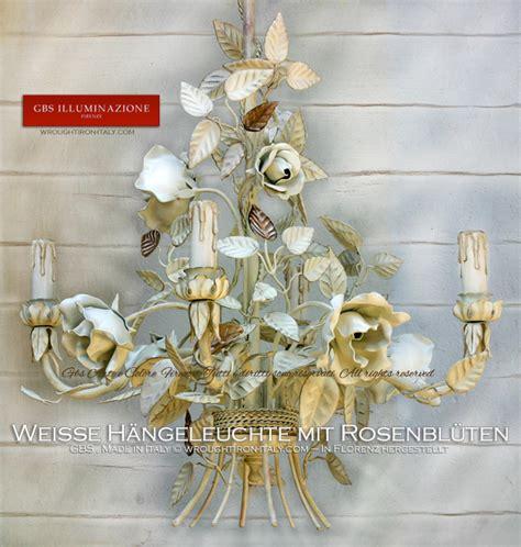 Chambre D Hôte Romantique by Wei 223 E H 228 Ngeleuchter Mit Rosenbl 252 Ten Shabby Chic Romantik