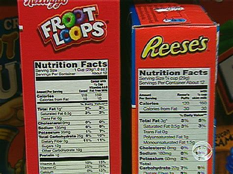 fruit loops nutrition fruit loops nutrition label ftempo inspiration