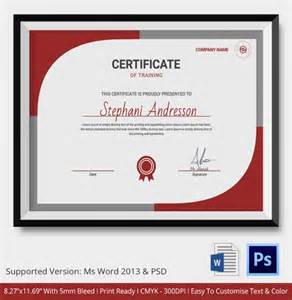 computer certificate template certificate template 21 free word pdf psd