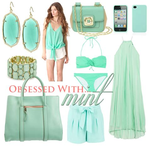 what color goes with mint green hairstyles