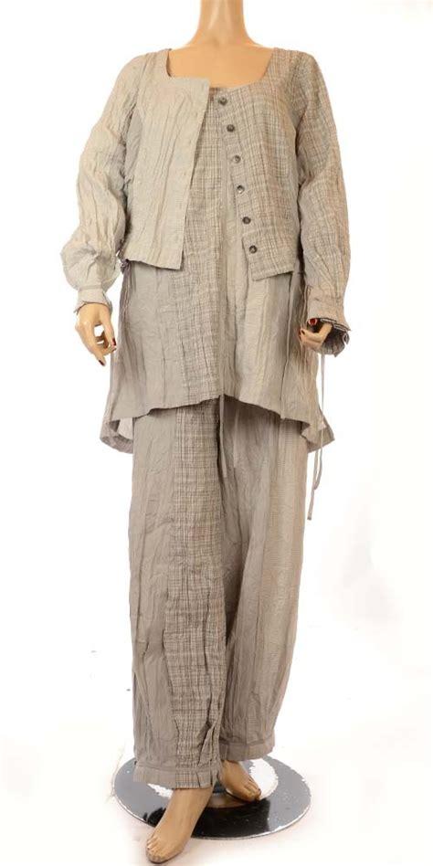 Dijamin Hem Tunik Onde Combi hebbeding grey combi check stripe tunic rrp 163 125 00 hebbeding lagenlook plus size tunics