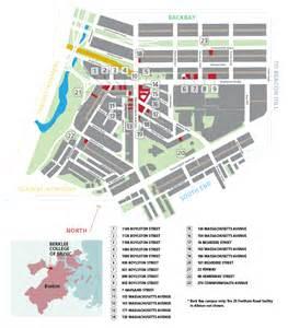 App Floor Plan boston campus map berklee college of music
