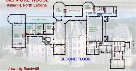 biltmore house plans biltmore estate floor plan biltmore fourth floor plan with lights labeled gilded